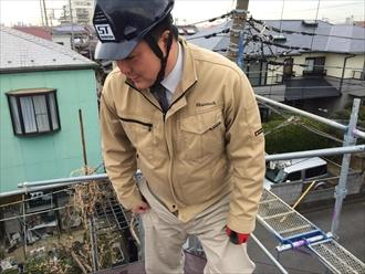 横浜市磯子区サイディングの劣化は上からも確認が必要