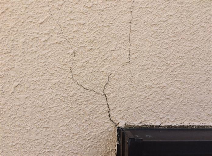 モルタル壁雨漏り調査③