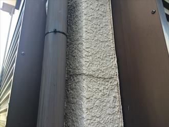 モルタル壁雨漏り調査④