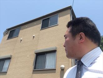 横浜市西区コーキングの破れはサイディングからも影響を受ける