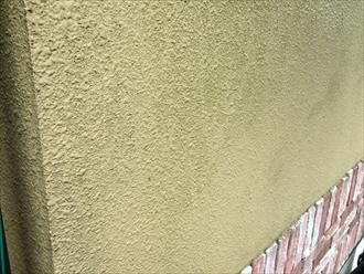 湘南藤沢市玉吹きモルタル壁と化粧スレートを塗り替え調査