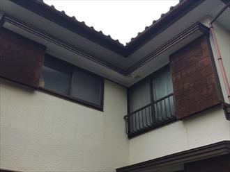 湘南藤沢市築34年の住宅外壁や木部の状態と塗り替え計画