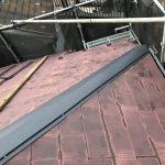 屋根塗装する前に棟板金交換