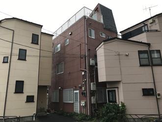 伊勢原市東大竹にて築20年目のALC住宅、パーフェクトトップによる外壁塗装を行いました、施工前写真