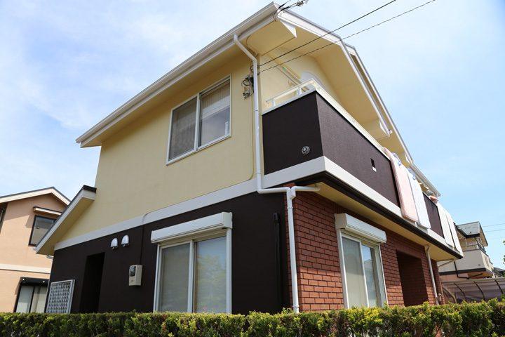 屋根塗装・外壁塗装完成