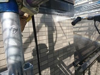 磁器タイル洗浄