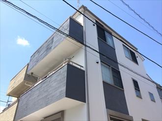 以前とは違った色合いをパーフェクトトップで実現 横浜市栄区、施工後写真