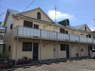 茅ヶ崎市屋根用遮熱塗料と外壁用アクリルシリコン塗料で塗装、施工後写真