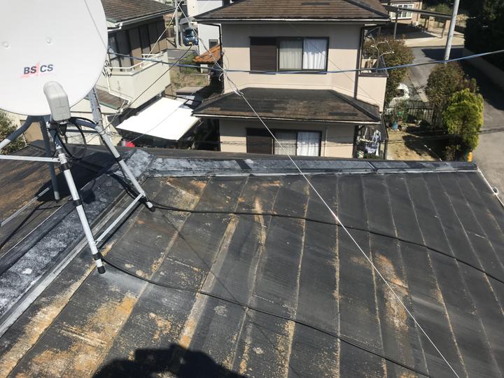 中井町にて屋根塗装で雨漏りを止めたいというお客様からのご相談