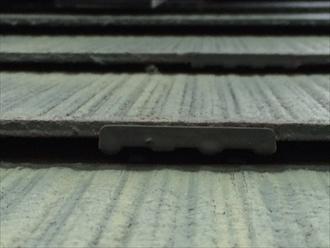 相模原市緑区築18年塗装されたスレート瓦の屋根調査