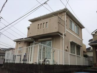 茅ヶ崎市築16年の外壁塗り替え調査と付帯塗装のご提案