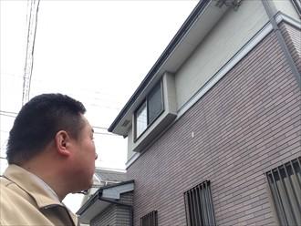 横浜市磯子区継ぎ目にコーキングの要らないサイディングの劣化の塗装