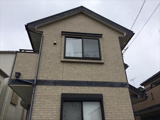相模原市南区築12年窯業系サイディング住宅の塗り替え調査