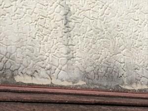 外壁材剥がれ拡大