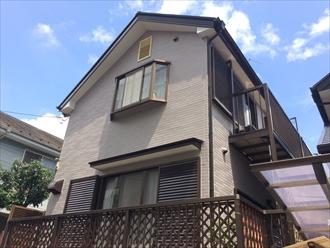 傷んできた屋根と外壁にパーフェクトシリーズで塗装|横浜市神奈川区、施工後写真