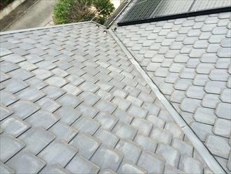相模原市南区急勾配屋根のメンテナンスは外壁塗装とご一緒に