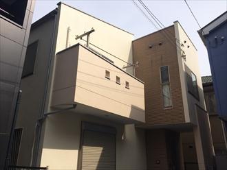 パーフェクトトップで既存の柄を残しつつ綺麗に塗り替え|横浜市栄区、施工後写真