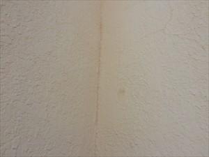 モルタル壁亀裂④