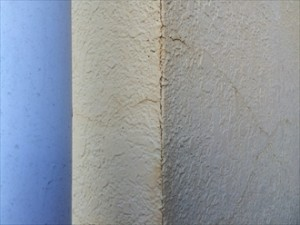 モルタル壁亀裂③