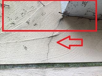 モルタル外壁の塗り替えをご検討中の横浜市鶴見区寺谷H様邸の現地調査を行いました
