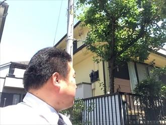 横浜市栄区2回目の屋根外壁塗装の計画で塗り替えの目安とは