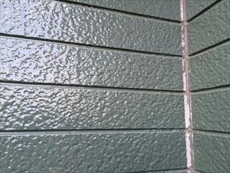 屋根用塗料で塗ったサイディング①