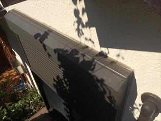 横浜市戸塚区でモルタル壁の外壁調査、亀裂の発生は雨漏り危険性2