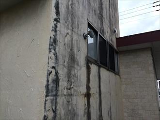 相模原市中央区築24年のジョリパット劣化を塗り替え調査