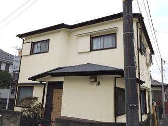 横浜市港北区 屋根塗装 外壁塗装 サーモアイ クールシルバーアッシュ ファインシリコンフレッシュ ND-111 ND-250 ND-500