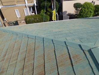 横浜市戸塚区 屋根塗装前の点検
