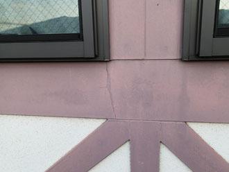 川崎市 点検調査 外壁 サッシ周りのクラック
