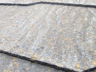 横浜市金沢区 お住まい点検 屋根材の表面がざらついている