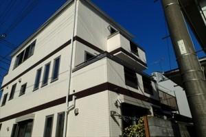 鶴見区|3階建てダイワハウスを屋根・外壁塗装工事、施工後写真
