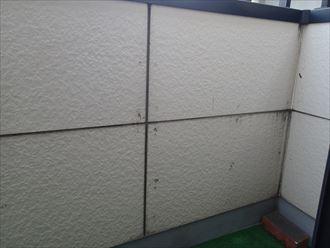 バルコニー,内壁
