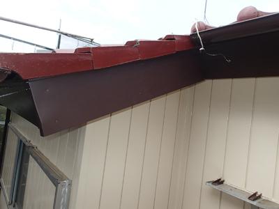 二宮町中里にて築20年目を迎える窯業サイディング外壁を一液シリコンセラUVにて塗装工事を行いました、施工後写真