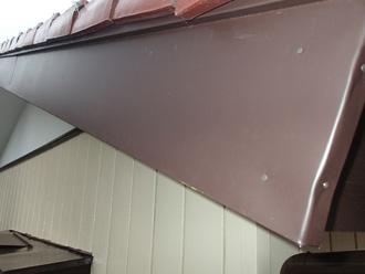 ガルバリウム鋼板の板金巻き完成