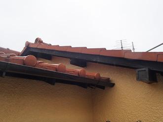 破風の塗装