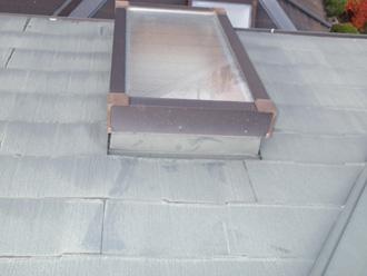 横浜市南区 屋根塗装前の点検 採光窓