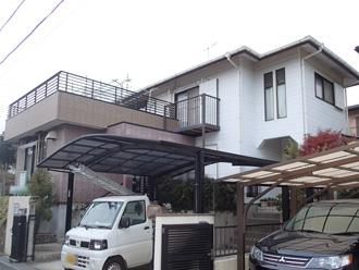 横浜市金沢区 外壁塗装前の点検