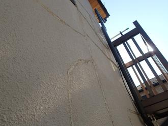 横浜市金沢区 お住まい調査 外壁のクラック