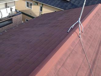 川崎市多摩区で屋根塗装の時期を迎えたお住まいの点検