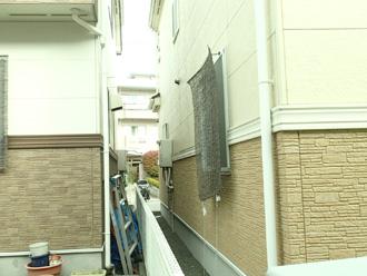 横浜市青葉区 外壁と屋根のリフォーム前調査 お隣と同じような外観