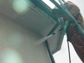 川崎市高津区 外壁塗装前の高圧洗浄