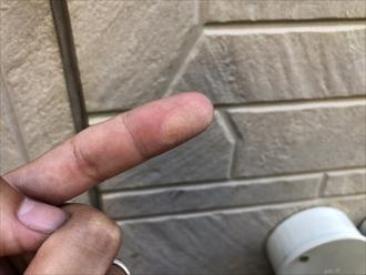 相模原市南区で外壁塗装検討中のお住まいへ調査に伺いました