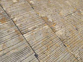 アスベスト入りの頑健な屋根材