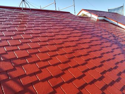 屋根塗装で綺麗になったアーバニー