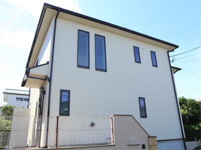 屋根塗装と外壁塗装、施工後