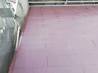 相模原市緑区久保沢でラジカル塗料ファインパーフェクトベストでスレート屋根塗装、施工後写真