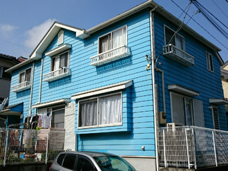 町田市 屋根塗装 外壁塗装 カラーシミュレーション 屋根の色 外壁の色 サーモアイ パーフェクトトップ ネイビー