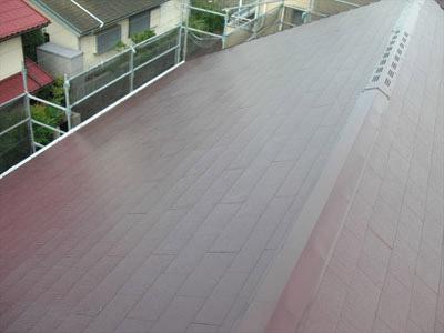 厚木市 屋根塗装 施工後